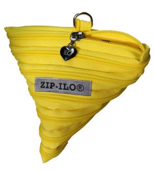 keltainen tetra zipilo vetoketjupussukka