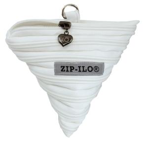 valkoinen tetra zipilo vetoketjupussukka