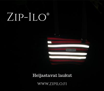 Kaikkiin Zip-Ilo® malleihin on saatavissa heijastava nauha.