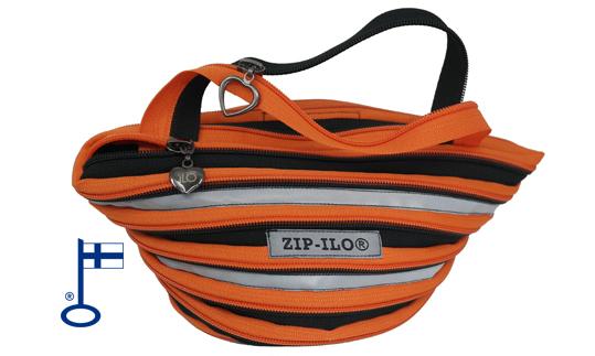 Kaikkiin Zip-llo® malleihin on saatavissa heijastava nauha